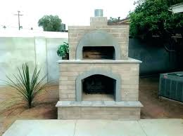 fireplace pizza oven outdoor combo exotic with gorgeous brick fire diy