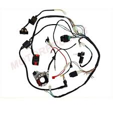 complete electrics 110cc 50cc 70cc 125cc wiring harness atv mini complete electrics 110cc 50cc 70cc 125cc wiring harness atv mini quad coolster