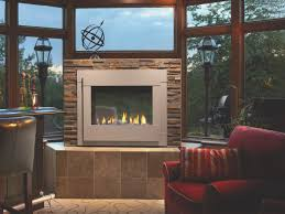 fireplace creative two sided gas fireplace indoor outdoor home design awesome unique to room design