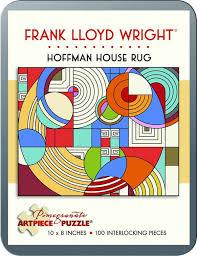 frank lloyd wright hoffman house rug jigsaw puzzle puzzlewarehouse com