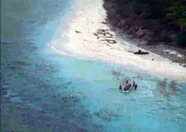 Navy Crew Spots Help Sign On Island Leading To Rescue Of 3