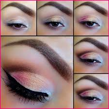 easy way to apply eyeshadow first select the tone you want after this need have some