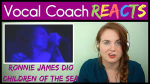 Vocal Coach reacts to <b>Ronnie James Dio</b> - Children of the Sea - Live ...