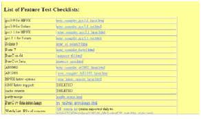 Контрольные списки можно также создать для проектов тестирования инфраструктуры В итоговом контрольном списке для каждой версии содержатся все прочие