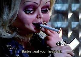 today i have my first diy costume i was watching the bride of chucky and i thought how fun would it be to dress up as tiffany for