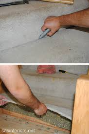 Removing Stair Carpet Staircase Makeover A New Diy Venture Begins Jenna Burger