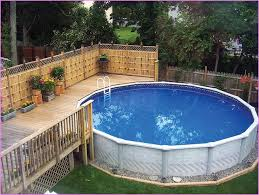 Backyard Pool Designs Landscaping Pools Cool 48 Uniquely Awesome Above Ground Pools With Decks Creating A