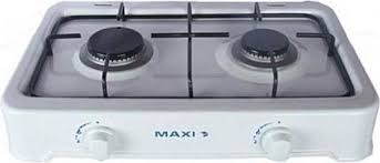 Maxi Table Top Gas Cooker Burner 2 Burner FREE Electronic Gas
