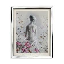 isabelle mirror framed art print on mirror wall art uk with mirrored framed wall art wayfair uk