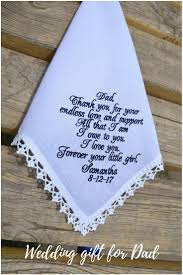 personalized fathers day wedding gift for dad handkerchief for father of the bride gift for father from the bride dad wedding in 2018 navy blue ideas for