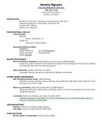 My First Resume Inspiration My First Resume Template For Kids Resume Samples Printable Resume