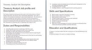 Cashier Job Description Sample Finance Descriptions Template