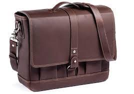 attaché leather messenger bag for men