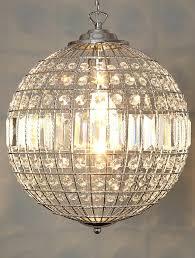 glass ball chandelier modern pendant lamps