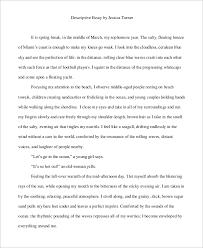 Descriptive Essay Of A Person Examples 6 Descriptive Essay Examples Pdf