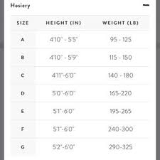 Spanx Size Chart Spanx Size Charts Not For Sale Nwt