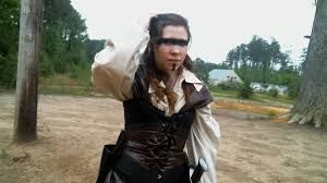 Throwing together a steampunk/post-apocalyptic costume - YouTube