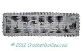 Free Filet Crochet Alphabet Charts Cute Doilies Crochet