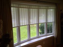 Bay Windows Decorating Window Living Room How To Solve The Curtain ...