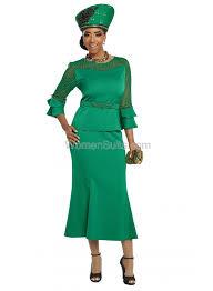 Donna Vinci Size Chart 2 Pc Jacket Skirt Set 11804