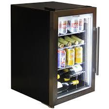 bar fridges wine glass shelf