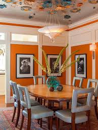 Orange Bedroom Furniture 25 Trendy Dining Rooms With Spunky Orange