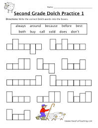Worksheets. 2nd Grade Fun Worksheets. Opossumsoft Worksheets and ...