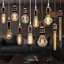 edison bulb incandescent lamp e27 220v wedding vintage lamp pendant light retro lighting ceiling lampadas carbon