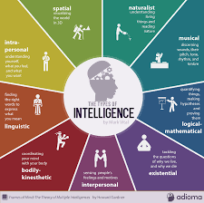 types of intelligence infographic 9 types of intelligence infographic