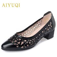 <b>AIYUQI</b> summer new genuine leather <b>women sandals</b>, hollow ...