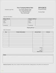Blank Form Of Resumes Printable Contractor Invoice Forms Free Blank Form