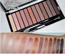 makeup revolution redemption palette iconic 3 eye shadow