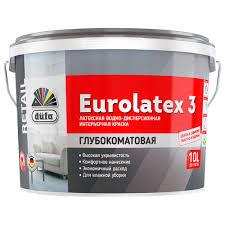 Латексная <b>краска</b> dufa <b>retail eurolatex 3</b> — отзывы о товаре на ...