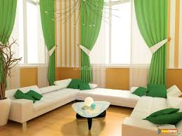 window sheers styling tips and ideas for interior decoration. Beautiful Green Grommet Curtains For Your Window Decoration: Wonderful Living Room With White Bonded Leather Sheers Styling Tips And Ideas Interior Decoration