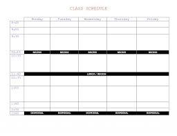 Course Schedule Maker Schedule Maker Template Lorgprintmakers Com