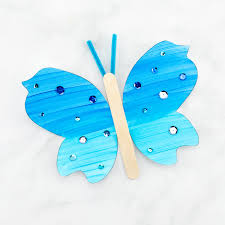 How To Make A Fluttering Paper Butterfly Craft
