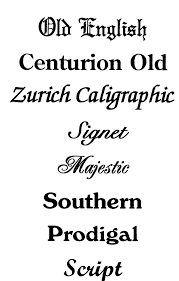 Font Styles For Tattoos Tattoo Fonts Name On Tattoos Names For Different
