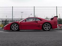 That is a landmark in the history of fast cars. 1989 1994 Ferrari F40 Lm Top Speed