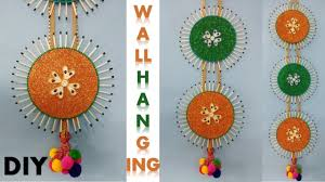 diy wall hanging craft room decoration ideas diwali