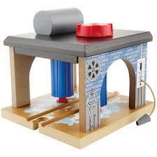 Fisher Price Wooden Railroad Maron Lights Sounds Signal Shed John Lewis Partners Train Wash Wooden Train John Lewis