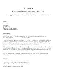 Sample Employment Offer Letter Template Position Offer Letter Template Job Word Malaysia Free