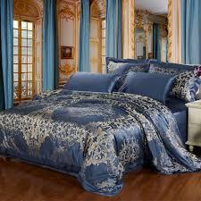 luxurious silk duvet covers see white