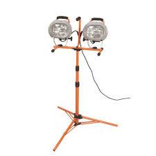 Hdx Dual Work Light Hdx Xg 1036b 9 Twin Head 1000 Watt Halogen Tripod Work