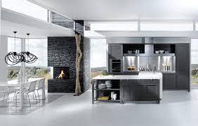 grey and white kitchen design ideas contemporary kitchen open plan
