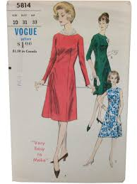 Vogue Pattern Interesting Vintage Vogue Pattern No 48 48s Sewing Pattern 48s Vogue