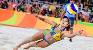 body in the best shape for volleyball