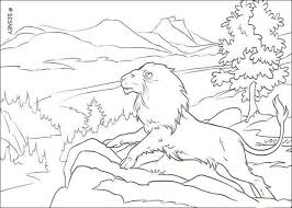 Small Picture The lion aslan coloring pages Hellokidscom