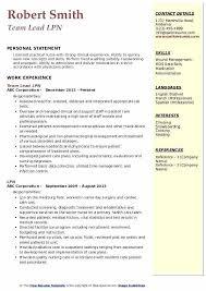 Sample Resume For Lpn Nurse Sample Lpn Resume Vitadance Me