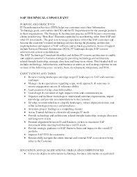 Best Ideas Of Cover Letter Sap Basis Resume Sap Basis Resume 5