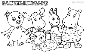 Small Picture Inspirational Backyardigans Coloring Pages 44 For Your Free